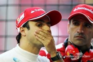 Felipe Massa, Ferrari with Marc Gene, Ferrari Test Driver