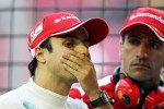 Felipe Massa, Ferrari with Marc Gene, Ferrari Test Driver