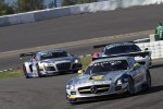 #102 Heico Gravity-Charouz Team Mercedes-Benz SLS AMG GT3: Mika Vahamaki, Max Nilsson