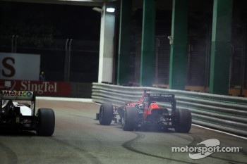 Timo Glock, Marussia F1 Team runs wide