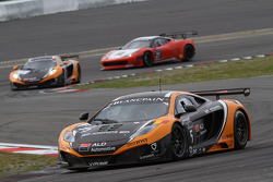 #15 Boutsen Ginion Racing McLaren MP4-12C GT3: Edouard Mondron, Jerome Thiry