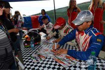 Autograph session, Stefano D'aste, BMW 320 TC, Wiechers-Sport