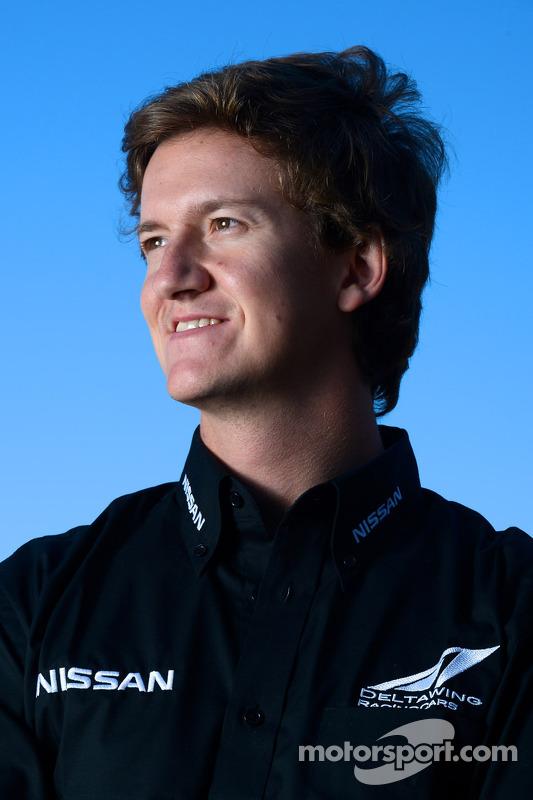 DeltaWing driver Lucas Ordonez