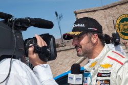 Yvan Muller after winning race 1