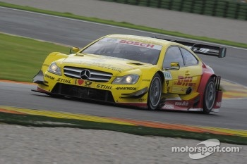 David Coulthard, Muecke Motorsport, AMG Mercedes C-Coupe