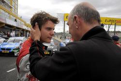 Adrien Tambay, Audi Sport Team Abt; Dr. Wolfgang Ullrich, Audi's Head of Sport