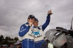 DP Season Champions #01 Telmex Chip Ganassi Racing with Felix Sabates BMW-Riley: Scott Pruett, Memo Rojas