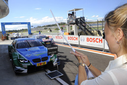 Liri Farfus and race winner Augusto Farfus Jr., BMW Team RBM