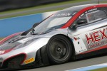 #1 Hexis Racing McLaren MP4-12C GT3: Frederic Makowiecki, Stef Dusseldorp