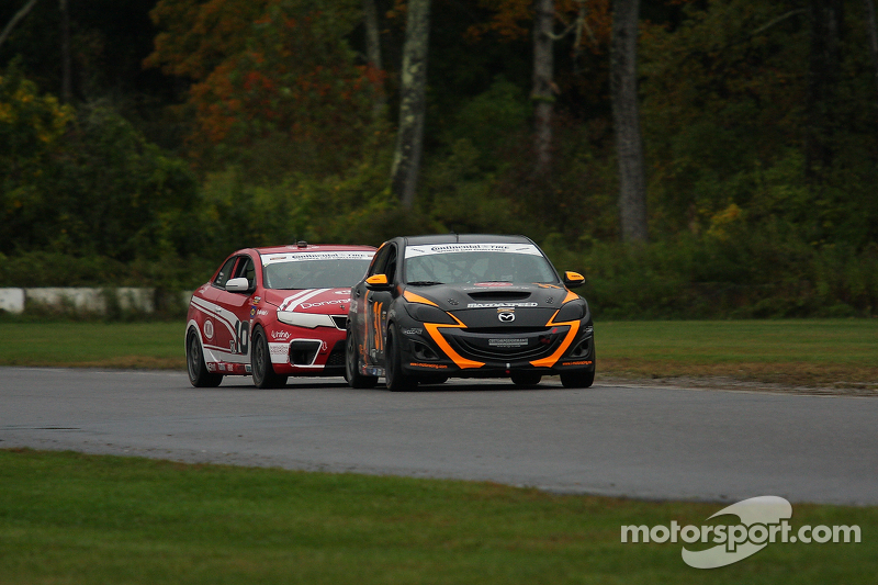 #31 i-MOTO Mazdaspeed 3: Jayson Clunie, Pierre Kleinubing
