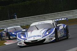 #32 Nakajima Racing Honda HSV-010 GT: Ryo Michigami, Yuki Nakayama