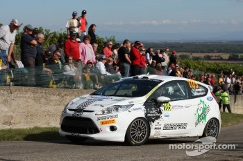 Pontus Tideman and Stig Rune, Ford Fiesta R2