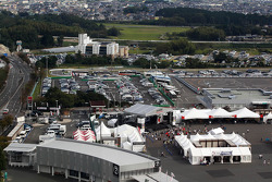 Scenic view of the circuit