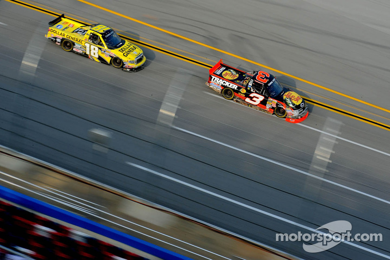 Ty Dillon and Kurt Busch