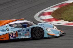 #29 Gulf Racing Middle East Lola B12/80 Coupé Nissan: Fabien Giroix, Keiko Ihara, Jean-Denis Deletraz