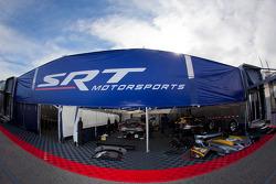 SRT Motorsports paddock area