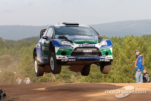 Kubica will drive a Ford Fiesta like this on ERC.