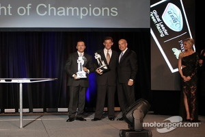 Christophe Bouchut and Scott Tucker with Scott Atherton