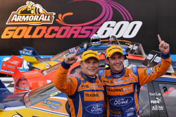 Winners Will Davison and Mika Salo, Trading Post FPR Ford
