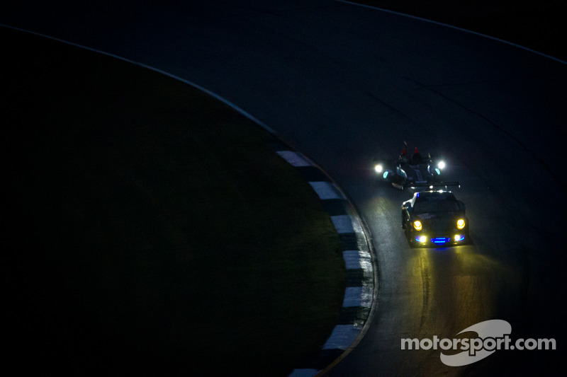 #11 JDX Racing Porsche 911 GT3 Cup: Chris Cumming, Michael Valiante, #0 Nissan DeltaWing Project 56 Nissan: Lucas Ordonez, Gunnar Jeannette