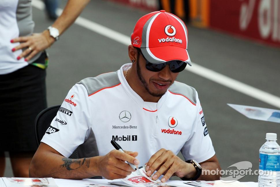 Lewis Hamilton Tattoo