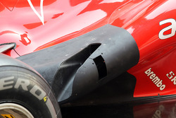 Ferrari exhaust detail
