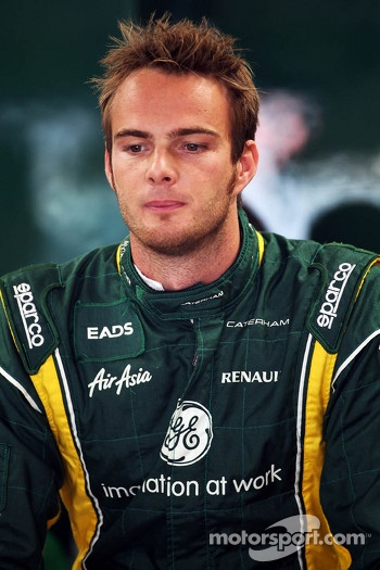 Giedo van der Garde, Caterham Third Driver