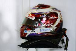 The helmet of Kamui Kobayashi, Sauber
