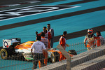 Nico Hulkenberg, Sahara Force India F1 retired at the start of the race