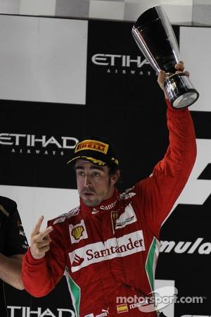 2nd place Fernando Alonso, Scuderia Ferrari