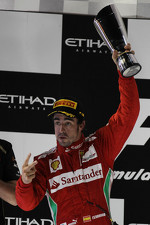 2nd place Fernando Alonso, Scuderia Ferrari