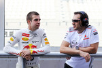 Antonio Felix da Costa, Red Bull Racing Test Driver with Gary Paffett, McLaren Test Driver