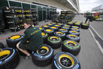 A Caterham tire engineer