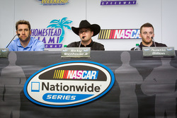 Championship contenders press conference: Elliott Sadler, Richard Childress Racing Chevrolet, Ricky Stenhouse Jr., Roush Fenway Ford, Austin Dillon, Richard Childress Racing Chevrolet