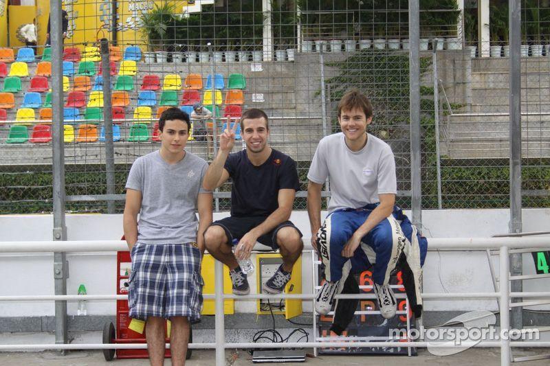 Pipo Derani, Antonio Felix da Costa, Tom Blomqvist