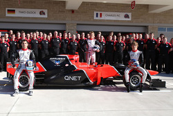 Marussia F1 Team, Timo Glock, Marussia F1 Team, Charles Pic, Marussia F1 Team and Max Chilton, Marussia F1 Team
