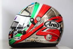 Helmet, Kei Cozzolino, BMW 320 TC, ROAL Motorsport