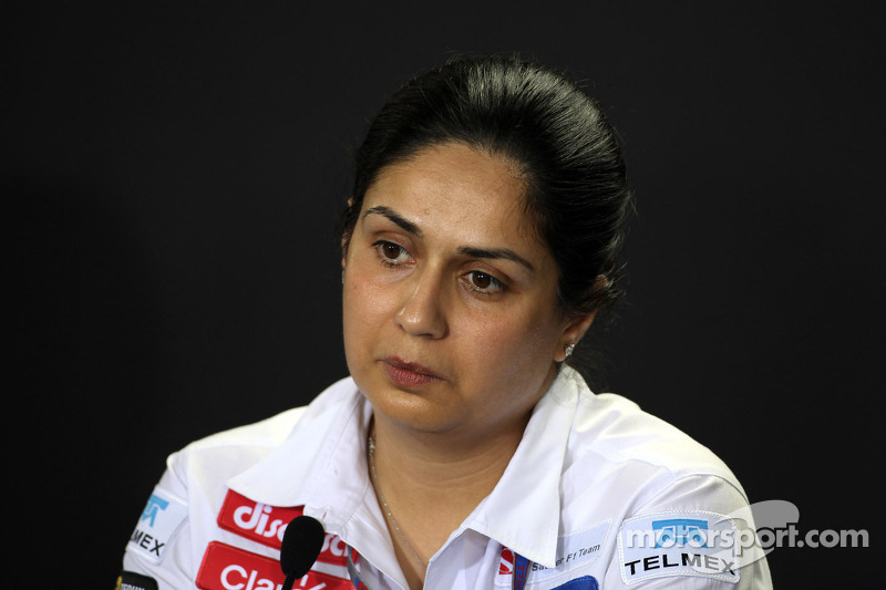 Monisha Kaltenborn, Managing director, Sauber F1 Team