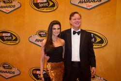 Brian France, CEO of NASCAR arrives