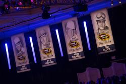Awards signage
