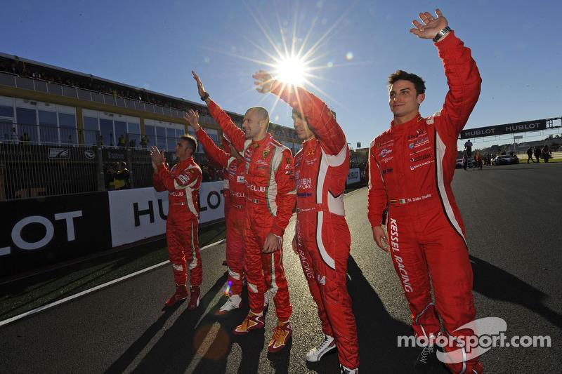 Ferrari GT drivers