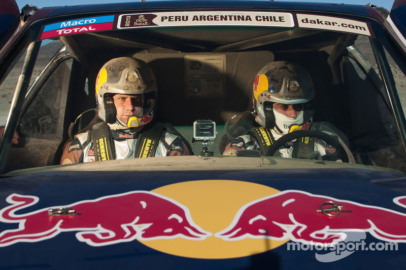 Carlos Sainz and Timo Gottschalk