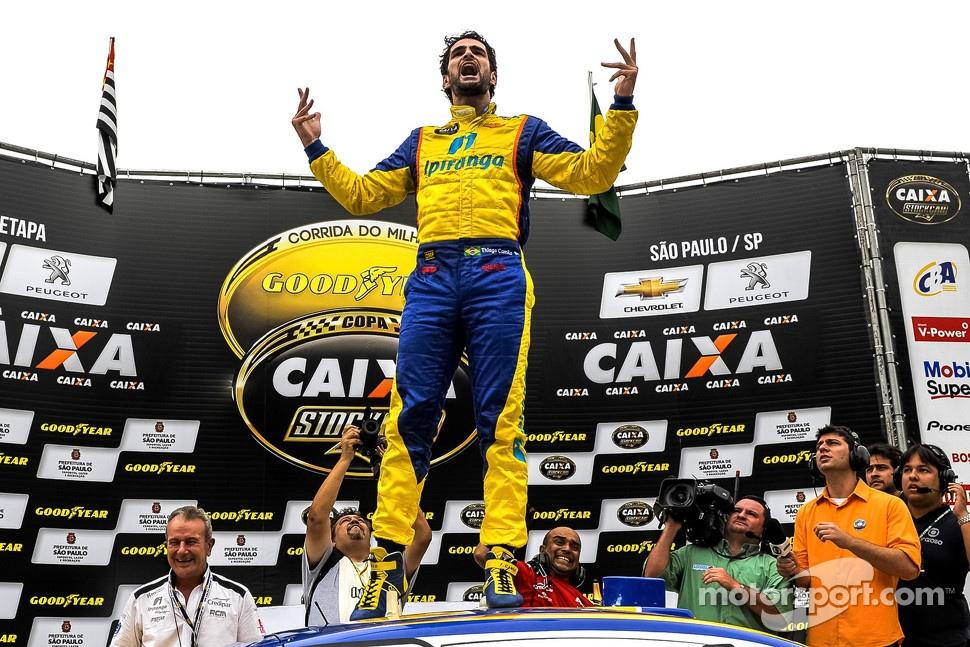 Race winner Thiago Camilo