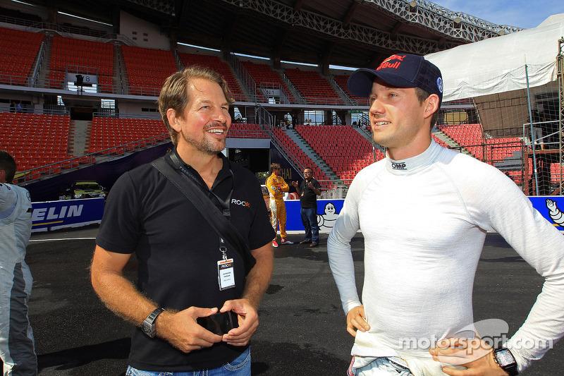 ROC founder Fredrik Johnsson and Sébastien Ogier