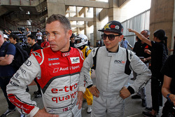 Tom Kristensen and Jorge Lorenzo