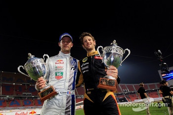 Second place Sébastien Ogier and Romain Grosjean