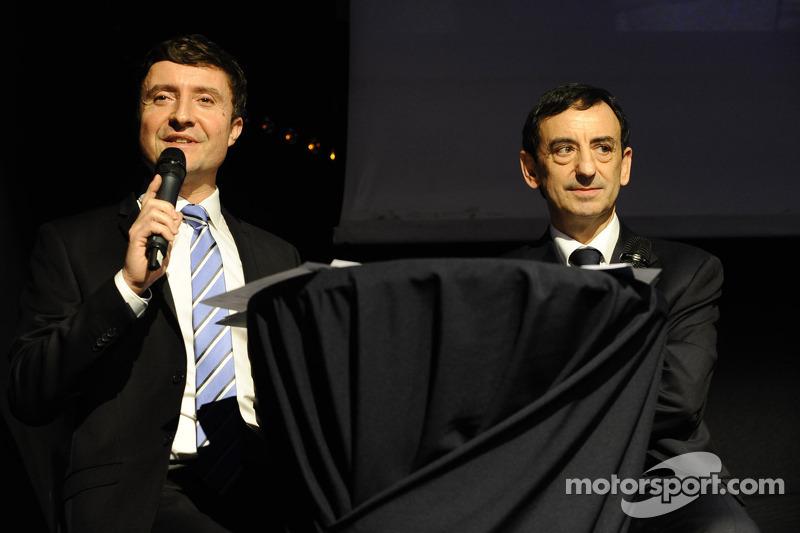 Bruno Vandestick and Pierre Fillon, ACO president