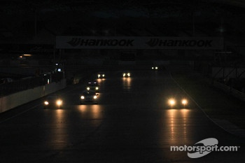 Race at night