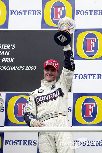 Podium: third place Ralf Schumacher