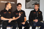 Wayne Taylor Racing drivers Max Angelelli, Jordan Taylor and Ryan Hunter-Reay